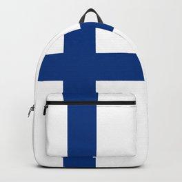 Flag of Finland Finnish Flag Backpack