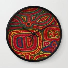 Kunas artwork Wall Clock