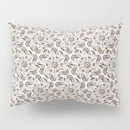 Mehndi or Henna Mandala Pillow Sham