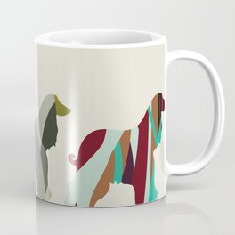 3 dogs Coffee Mug