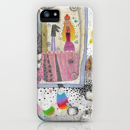 """Wedding II""  Illustrated print iPhone Case"