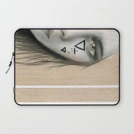 Beach Tribe Two - Gypsy Soul Searching Woman Laptop Sleeve