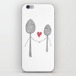Big Spoon Little Spoon iPhone Skin