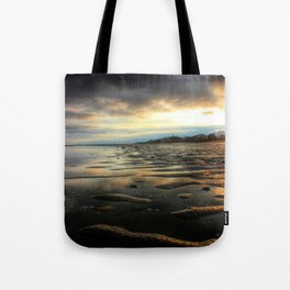 East Beach Sunset Tote Bag