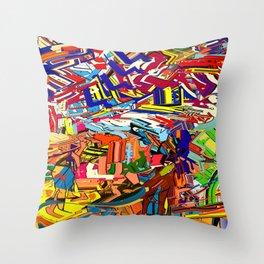 urchie ix Throw Pillow