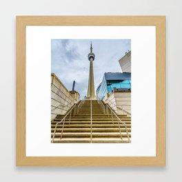 The CN Tower Framed Art Print