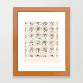 COASTAL 1 — Matthew Korbel-Bowers Framed Art Print