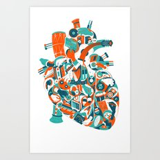 Music in your heart? Art Print