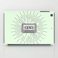 tape iPad Cases featuring Tape by Colleen Sweeney