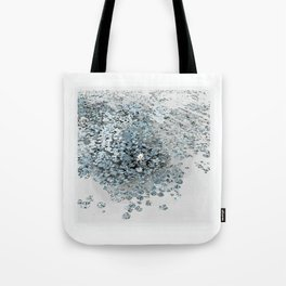 The Waterlily Blue Tote Bag
