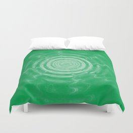 Ripples_Green Duvet Cover