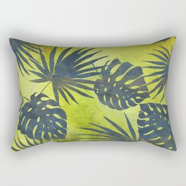 Tropical Leaves Pattern 2 Rectangular Pillow