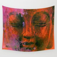 meditation Wall Tapestries featuring Meditation by zAcheR-fineT