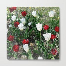 JC Floral Art 06 Metal Print
