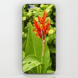 Floral Print 044 iPhone Skin