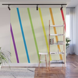 Finding the Rainbow Wall Mural