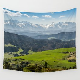 Tatry Poland Landscape Wall Tapestry