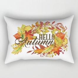 HELLO Autumm Rectangular Pillow