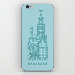 Stockholm (Cities series) iPhone Skin