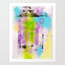 Abstract Life Art Print