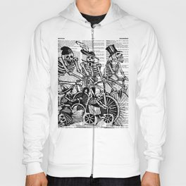 Calavera Cyclists | Black and White Hoody