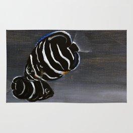 Juvenile Emperor Angel Fish Rug