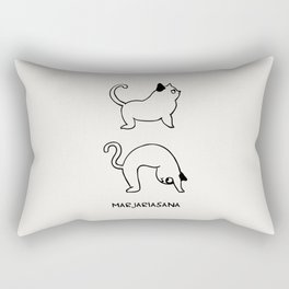 Cat Pose Rectangular Pillow