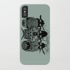 Owls of the Nile iPhone X Slim Case