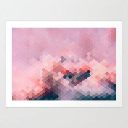 PINKY MINKY Art Print