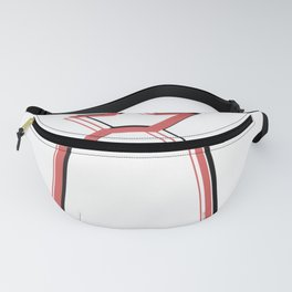 Living Coral Summer Ananas Minimalism Fanny Pack