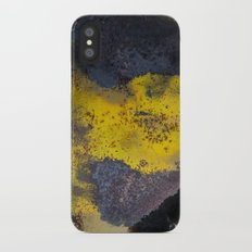 Abstract  metallic iPhone X Slim Case