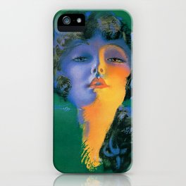 """Girl of My Dreams"" Pinup by Rolf Armstrong iPhone Case"