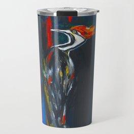 Fire Bird (Pileated Woodpecker) Travel Mug
