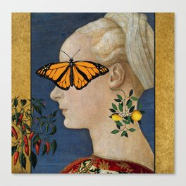 Under the Butterfly Canvas Print