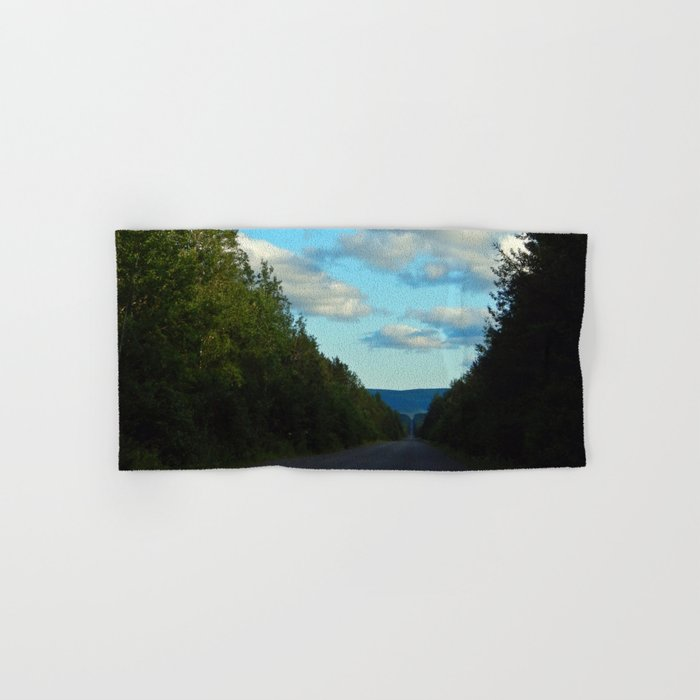 Mountain Road Hand & Bath Towel