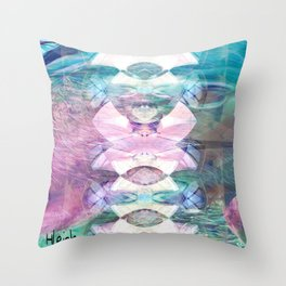 Reflection In the Water Throw Pillow