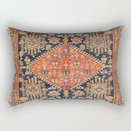Hamadan  Antique West Persian Rug Print Rectangular Pillow