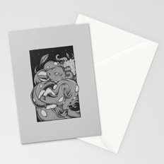 Tents Attack!  Stationery Cards