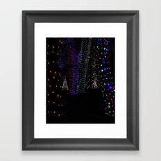 Christmas Woods Framed Art Print