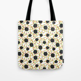 rainbow blackout Tote Bag