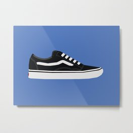 Vans Old Skool Minimal Graphic Metal Print