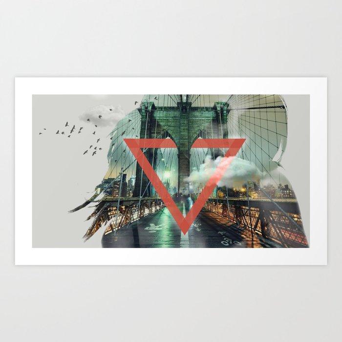 Closeup Art Print