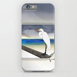 American Great Egret iPhone Case