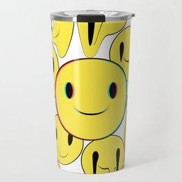 Smiling away Travel Mug