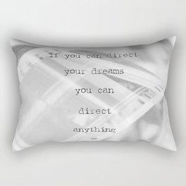 If you can direct your dreams Rectangular Pillow