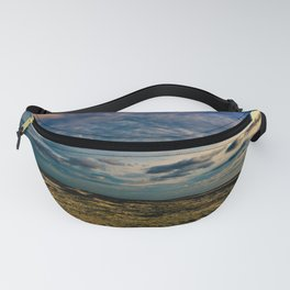 Beach Four with Swirling Clouds Fanny Pack