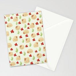 Raviolli pattern Stationery Cards