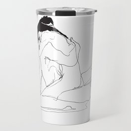 Wish of Embrace 1 Travel Mug