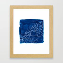 A Blue Night Framed Art Print