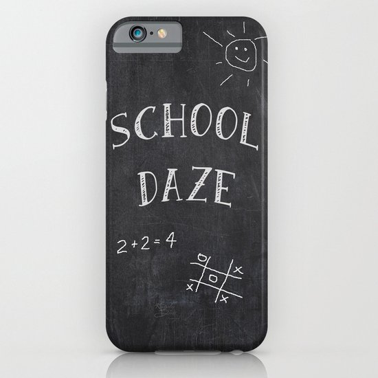 School Daze iPhone & iPod Case